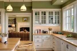 Không đặt bếp đối diện với cửa hoặc ngay dưới cửa sổ và cách hóa giải