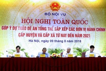 Bộ Chính trị ra nghị quyết về sáp nhập quận huyện, phường xã