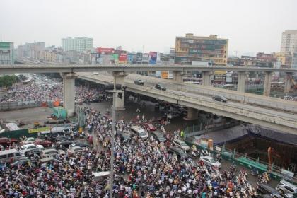 Hà Nội: Mở rộng tuyến đường vành đai 3 dưới thấp để chống ùn tắc