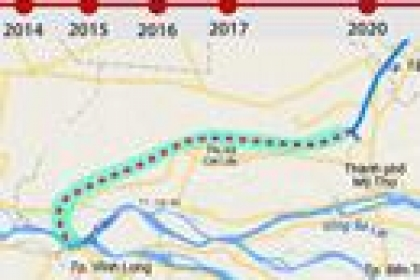 Dự án Trung Lương - Mỹ Thuận vướng ở đâu?