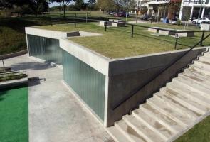 Nhà tắm công cộng: Từ mặt bằng đến mặt cắt