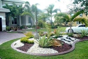 Những lưu ý khi sử dụng đá, sỏi trang trí sân vườn