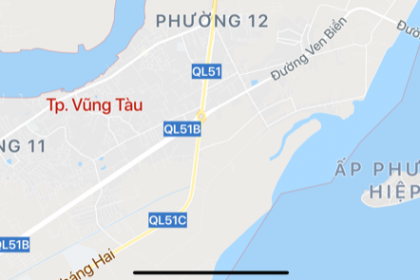 """Bà Rịa – Vũng Tàu: Thêm 1 doanh nghiệp bất động sản muốn """"nhảy"""" vào khu đô thị mới Cửa Lấp"""