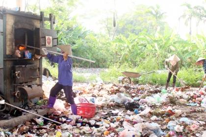 Vĩnh Phúc: Xử lý rác thải sinh hoạt vẫn còn nhiều khó khăn
