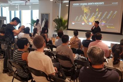 WeWork ra mắt không gian văn phòng tại Việt Nam