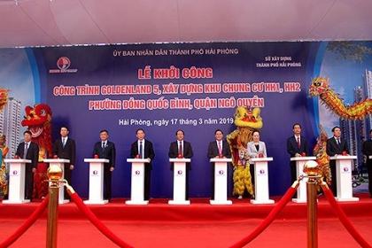 Hải Phòng: Khởi công dự án chung cư trị giá hơn 1300 tỷ đồng