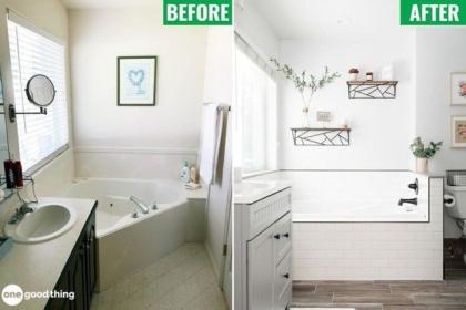 Cải tạo phòng tắm đẹp như ở homestay, khách sạn