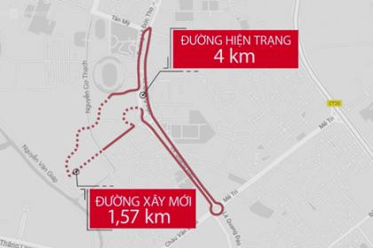 Hà Nội khởi công đường đua xe công thức 1