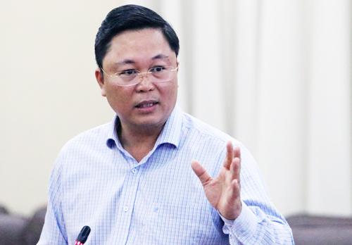 Phó chủ tịch UBND tỉnh Quảng Nam Lê Trí Thanh. Ảnh: Võ Hải.