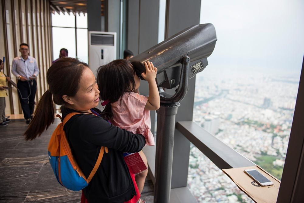 Hình ảnh 'độc nhất vô nhị' về Sài Gòn từ đài quan sát cao nhất Đông Nam Á