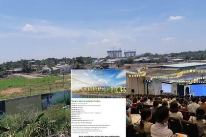 Dự án Nam Senturia Sài Gòn: Rao bán rầm rộ khi chưa giải phóng mặt bằng
