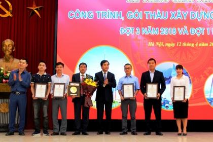 21 công trình và 5 gói thầu đạt giải thưởng công trình xây dựng chất lượng cao