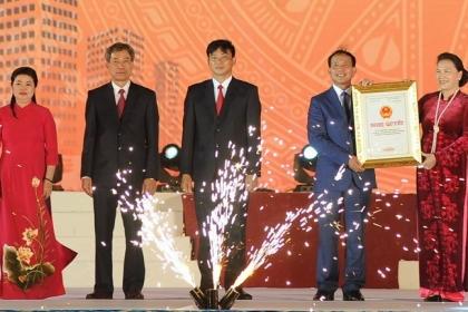 Công bố thành lập thành phố Chí Linh