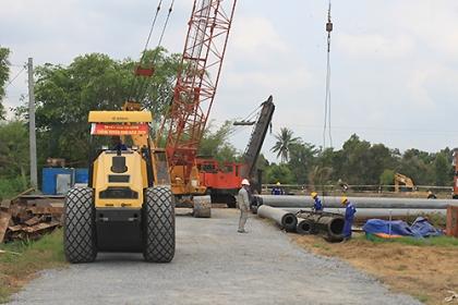 Cao tốc Trung Lương - Mỹ Thuận vướng thủ tục giải ngân