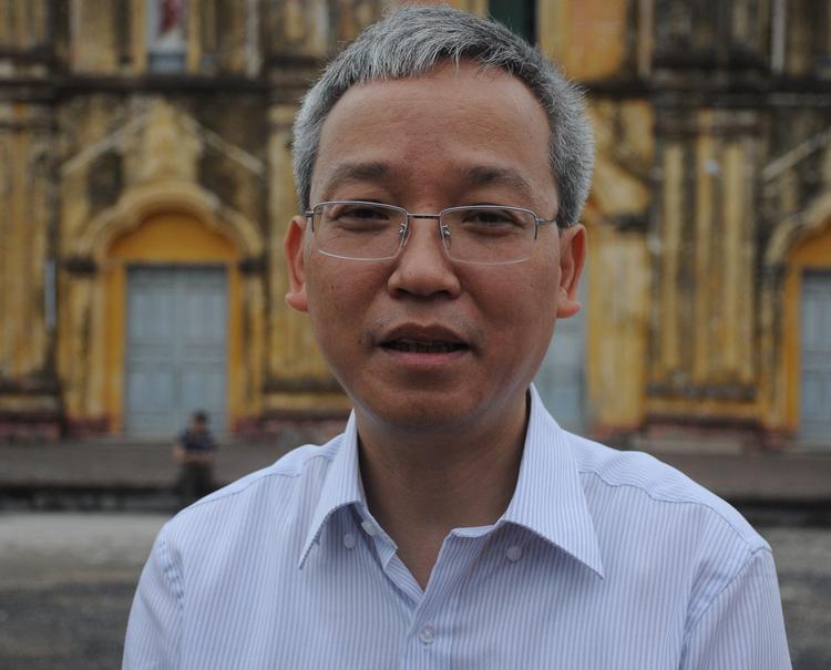 Ông Trần Đình Thành, Cục phó Di sản văn hoá. Ảnh: Viết Tuân.
