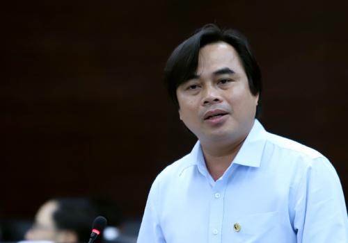 Ông Tô Văn Hùng phát biểu tại chương trình. Ảnh: Nguyễn Đông.