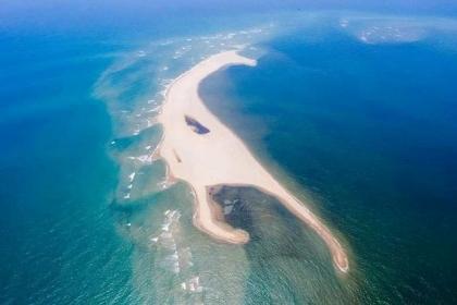 Thông tin mới về cồn cát khổng lồ nổi ở biển Cửa Đại