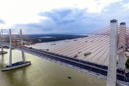 Kiểm toán kiến nghị giảm 193 tỷ, 3 năm thu phí cầu dây văng lớn nhất Việt Nam