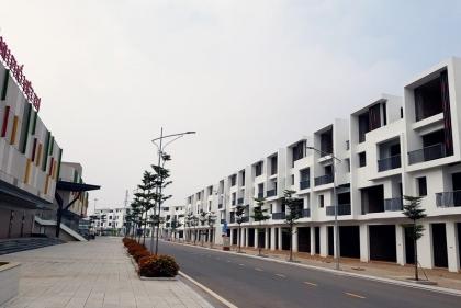 KĐT và thương mại Việt Trì hút khách mua nhà bằng sổ đỏ trao tay