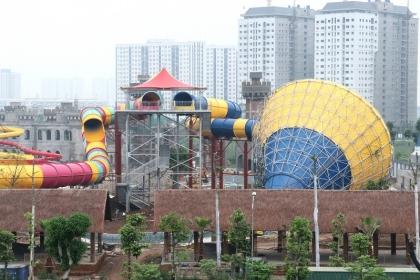 Tập đoàn Mường Thanh sắp khai trương công viên nước Thanh Hà lớn nhất Hà Nội
