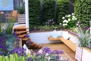 Những ý tưởng thiết kế sân vườn nhỏ xanh mát