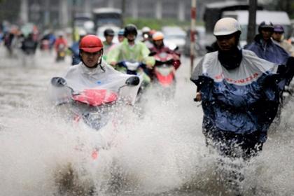 Đường Nguyễn Hữu Cảnh sẽ hết ngập mà không cần máy bơm?