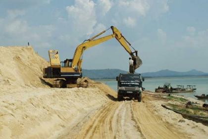 Hướng dẫn sử dụng cát tự nhiên để làm vật liệu san lấp