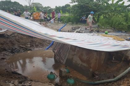 Vỡ đường nước sạch cấp cho 3 quận nội thành Hà Nội