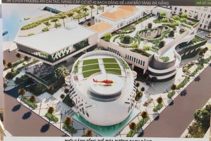 Tuyển chọn phương án thiết kế kiến trúc công trình cải tạo thành Bào tàng Đà Nẵng