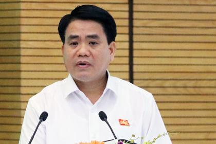 Ông Nguyễn Đức Chung: 'Để giữ kỷ cương thì cả tòa nhà Lê Trực cũng phải đập'