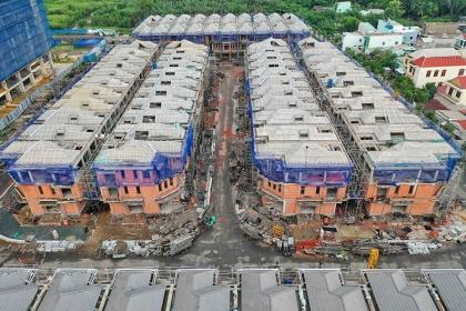 Dự án 110 biệt thự khu Nam Sài Gòn bị đình chỉ thi công