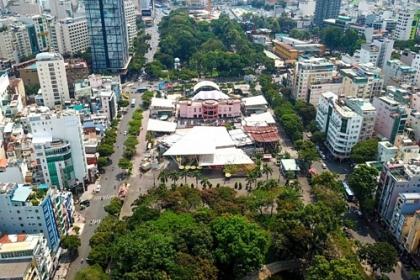 Công viên 23 tháng 9 được xây dựng lại đầu năm 2020