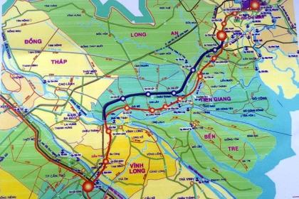 10 tỷ USD xây tuyến đường sắt cao tốc TP HCM - Cần Thơ
