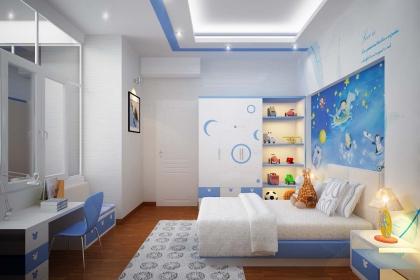 Cách thiết kế phòng ngủ cho bé theo phong cách hiện đại
