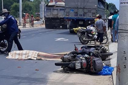 Nữ du khách nước ngoài bị xe tải tông tử vong