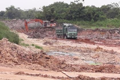 Bắc Ninh cấp quyền khai thác khoáng sản làm VLXD thông thường