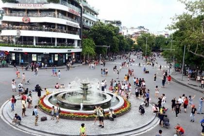 Hà Nội: Hoàn chỉnh phương án mở rộng không gian đi bộ ở phố cổ