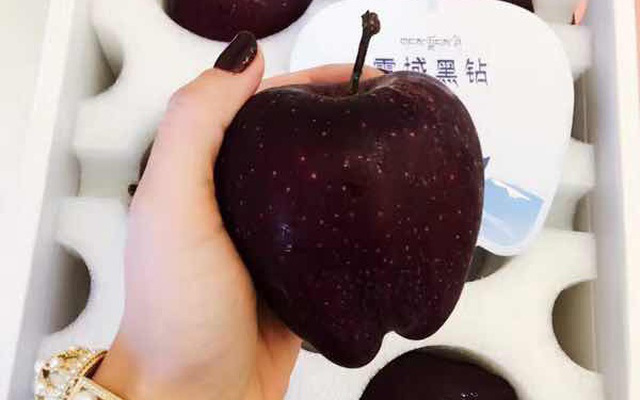 Quả táo đen giòn ngọt gấp nhiều lần so với táo thông thường, bạn đã thử chưa?