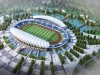 Hoa đại ngàn được lựa chọn là phương án kiến trúc xây dựng sân vận động Thái Nguyên
