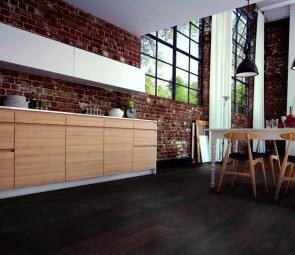 Đi tìm chất liệu lát sàn bếp đẹp, dễ vệ sinh