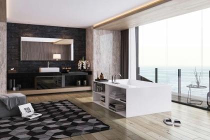 Chiêm ngưỡng 8 mẫu phòng tắm đơn giản được đặt ở những nơi cực đẹp
