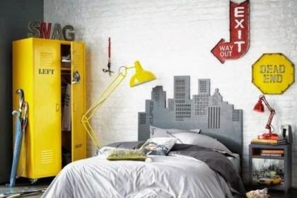 Trang trí phòng ngủ theo phong cách hiện đại của giới trẻ