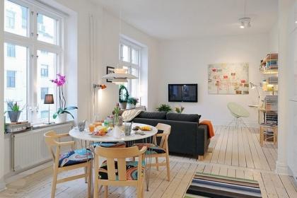 Vẻ đẹp mê hoặc của 29 mẫu phòng khách theo phong cách Scandinavia