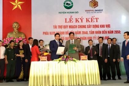 Văn Phú – Invest tài trợ quy hoạch chung xây dựng khu vực phía Nam huyện Hoành Bồ (Quảng Ninh)