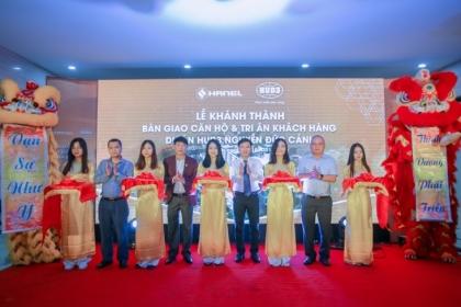 Khánh thành và bàn giao căn hộ Dự án HUD3 Nguyễn Đức Cảnh