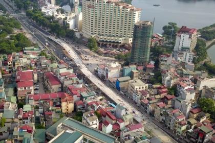 Hà Nội Thay đê đất bằng bê tông, mở rộng đường Âu Cơ lên 4 làn xe
