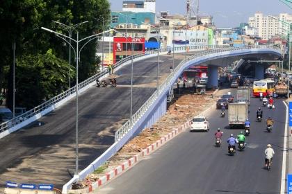 Hà Nội thông xe cầu vượt hơn 300 tỷ đồng ở nút giao An Dương