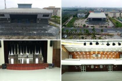 Cảnh khó tin trong nhà hát trăm tỷ ở ngoại thành Hà Nội