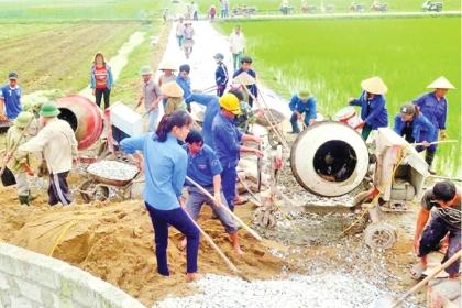 Chương trình mục tiêu quốc gia xây dựng nông thôn mới: Quy hoạch luôn đi đầu