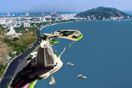 Dự án lấn biển Vũng Tàu xây thủy cung
